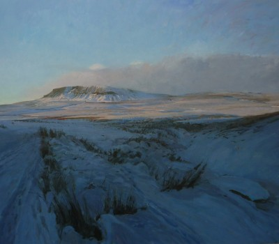 Pen Y Ghent Last Light Winter