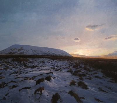 Winter Silence Pendle Hill