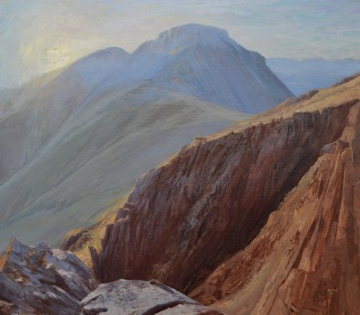 Sunrise over Great Gable