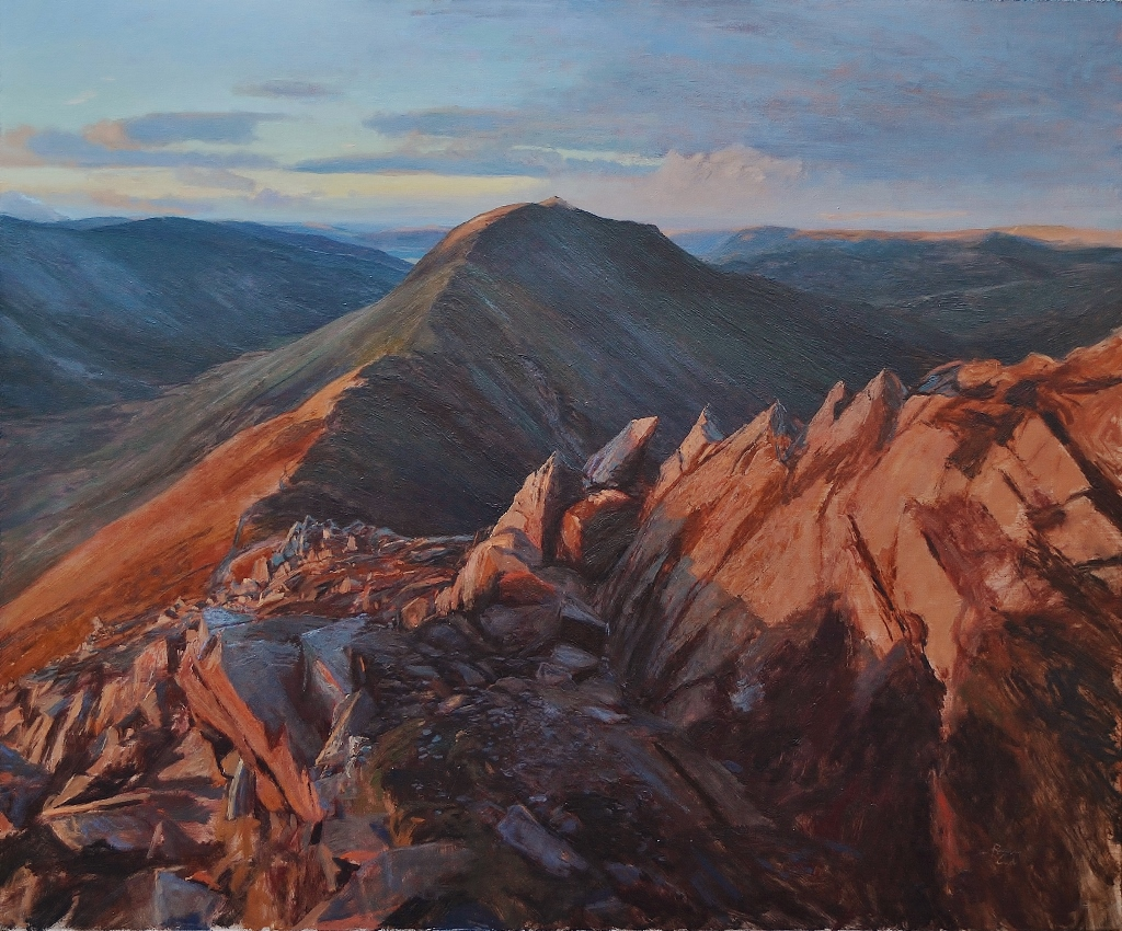 Day's End, St Sunday Crag