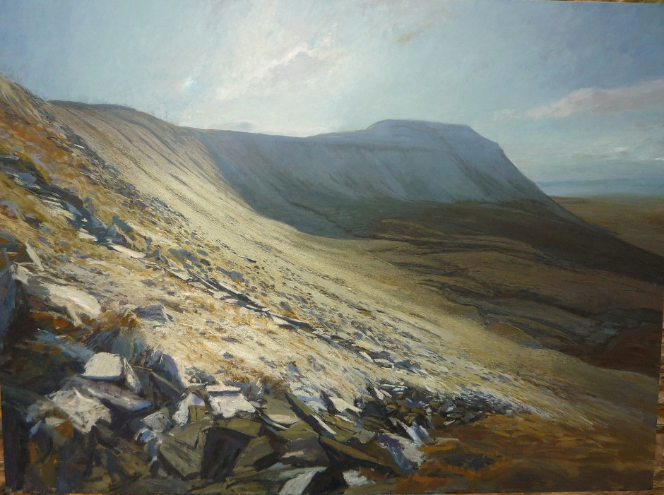 Ingleborough, Winter Frost